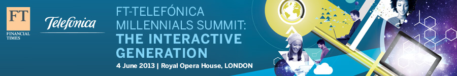 FT-Telefonica Millennials Summit - London